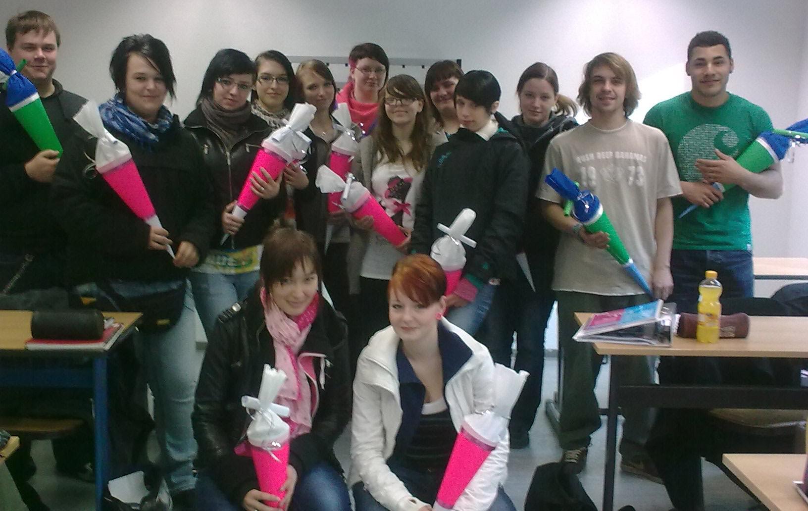 Schulanfang im Projekt FSJ Plus Realschule